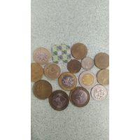 Сборный лот монет разных стран