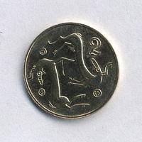 Кипр, 2 цента 2004 г.