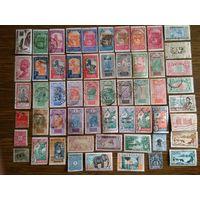 Французкие колонии. Есть чистые, гашеные и  дорогие марки. С рубля, без минимальный цены