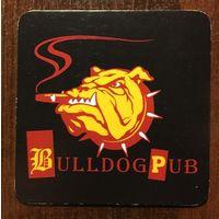 Подставка под пиво Bulldog Pub /Россия/ No 1