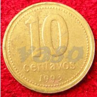 7193:  10 сентаво 1993 Аргентина