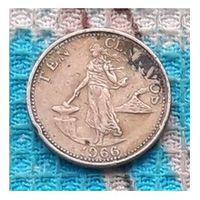 Филиппины 10 центов 1966 года. Инвестируй в коллекционирование!