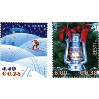 Новый год и Рождество, Праздники Эстония 2006 **