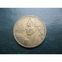 10 динаров 1955 г. Югославия.