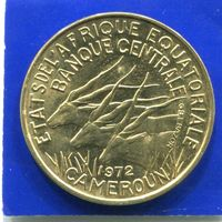 Экваториальные Африканские Штаты , Камерун 10 франков 1972