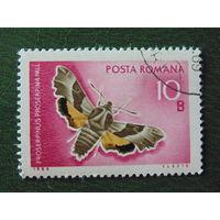 Румыния 1969г. Насекомые.