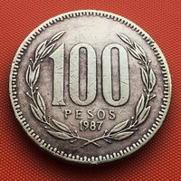 115-03 Чили, 100 песо 1987 г.