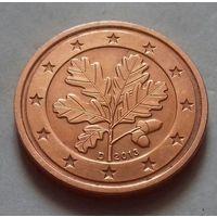 2 евроцента, Германия 2013 D, UNC