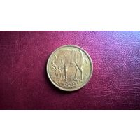 Эфиопия 10 сантимов, 1977  Латунь /не магнетик/