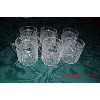 Набор хрустальных стаканов