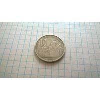 Сербия  10 динаров