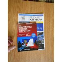 Карта и путеводитель по будапешту