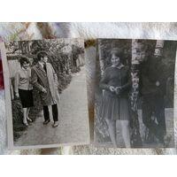 "Фото 2 штуки ""Свидание, 60-е годы"""