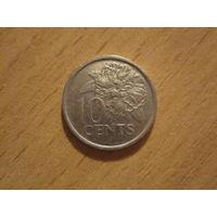 10 Центов 1998 (Тринидад и Тобаго)