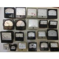 Головки измерительные - амперметры, вольтметры и пр.
