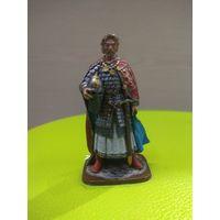 Солдатик оловянный(военно-историческая миниатюра) князь Александр Невский
