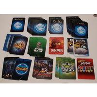 W: Карточки различные более 40 штук, Б/У