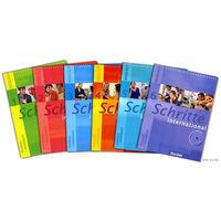 Немецкий язык - Schritte International 1 - 6 уровни (учебники + рабочие тетради + аудио + книга для учителя) + Грамматические упражнения к учебнику Schritte