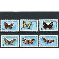Румыния. Бабочки, вып.1985