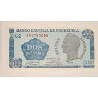 Венесуэла. 1 боливар 1989 г. UNC.