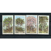 Сискей (Южная Африка) - 1984 - Деревья - [Mi. 52-55] - полная серия - 4 марки. MNH.