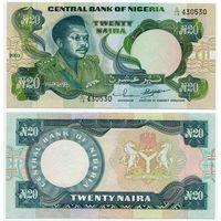 Нигерия. 20 найра (образца 2003 года, P26g, UNC)