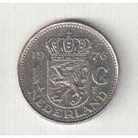 1 гульден 1976 года Нидерландов
