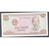 Вьетнам 200 донг 1987 г.