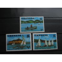 Транспорт, корабли парусники флот марки Гренада