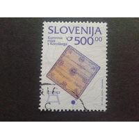 Словения 1998 стандарт Mi-6,0 евро гаш.