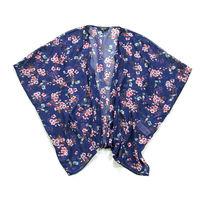 Классная летняя блузка- накидка р-р М