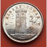 122-12 Остров Мэн, 2 пенса 2007 г.