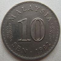 Малайзия 10 сен 1982 г. (g)