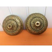 Накладка, декоративное основание элемент (пара) Латунь/бронза