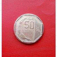 93-15 Перу, 50 сентимо 1994 г.