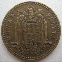 Испания 1 песета 1966 г. (67) (g)