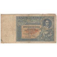 Польша, 20 злотых 1931