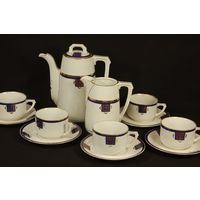 Чайный сервиз Франция модерн 19 век 5 персон
