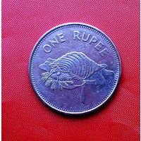 87-23 Сейшелы, 1 рупия 2007 г.