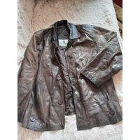 Куртка кожаная р. 52-54 Италия