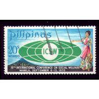 1 марка 1970 год Филиппины 926