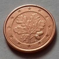 1 евроцент, Германия 2012 D
