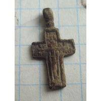Супермаленький старообрядческий крестик     , распродажа коллекции с 1 рубля, смотрите другие мои лоты !!
