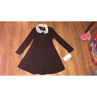Школьное платье для девочки 122-128