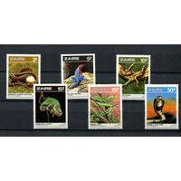 Конго (Заир) - 1987 - Рептилии - [Mi. 939-944] - полная серия - 6 марок. MNH.