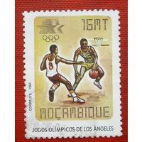 Мозамбик. Спорт. ( 1 марка ) 1984 года . 4-12.