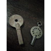 Ключи для старинных часов