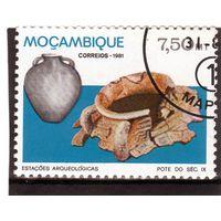 Мозамбик.  Mi:MZ 843. Кувшин. Серия: Археологические памятники в Мозамбике. 1981.