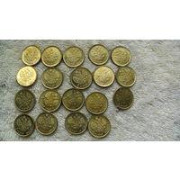 Монета 5 руб Николай II 1910г. золотой из коллекции. (20 мм) распродажа