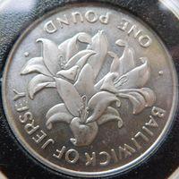 20. Джерси 1 фунт 1972 год, серебро